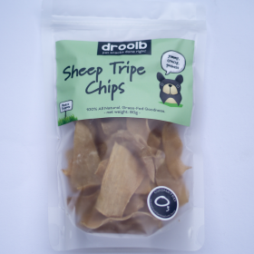 Retail Pack of Sheep Tripe Chips