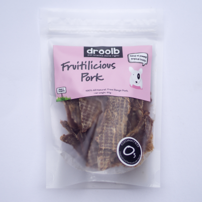 Retail Pack of Fruitilicious Pork